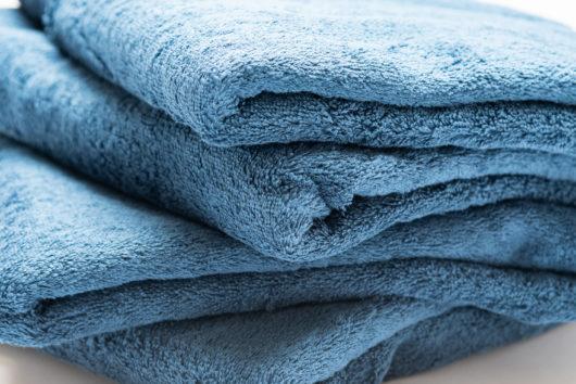 洗濯物 乾いたタオル