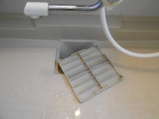 浴室排水溝ふた