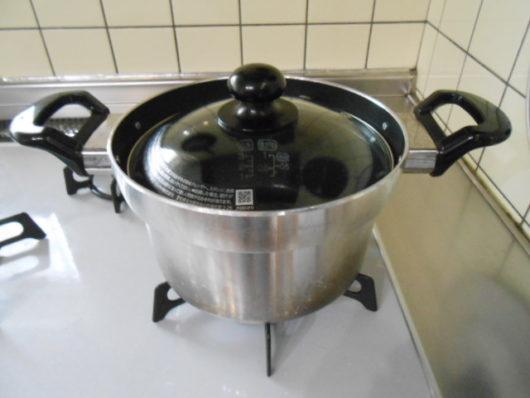 リンナイ炊飯鍋